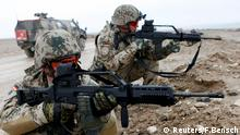 German Bundeswehr soldiers in Afghanistan