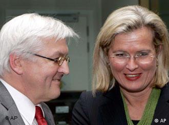Министрите Штајнмаер и Пласник