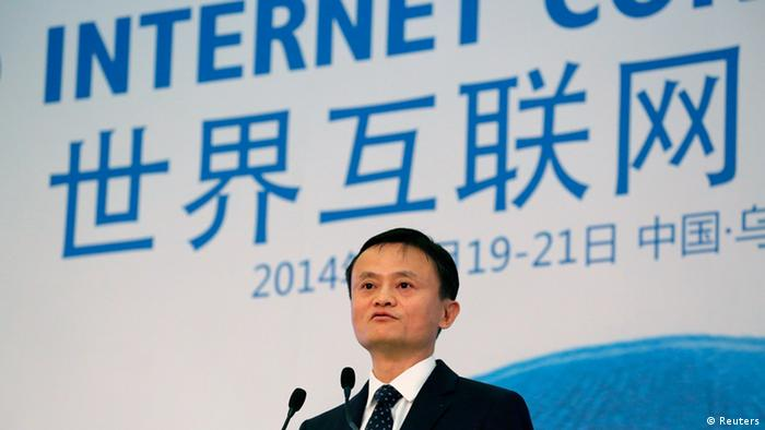 China World Internet Conference 19.11.2014 Rede Jack Ma (Reuters)