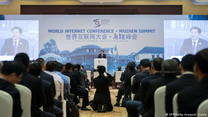 China World Internet Conference 19.11.2014 Lu Wei (AFP/Getty Images/J. Eisele)