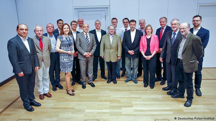 Deutschland Polen deutsch-polnische Kopernikus-Gruppe in Berlin