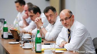 Prof. Dieter Bingen i dr Kazimierz Wóycicki
