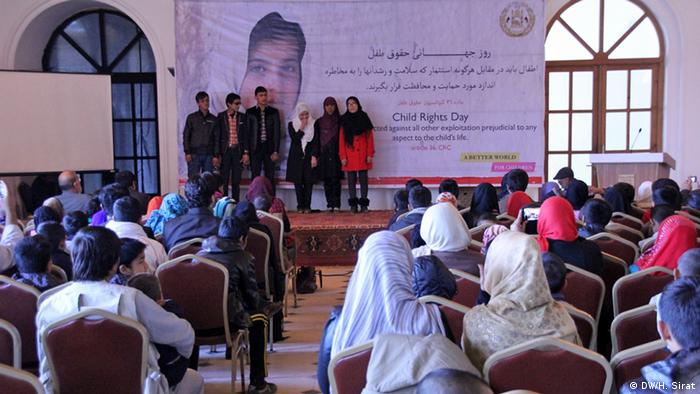 Afghanistan Weltkindertag in Kabul