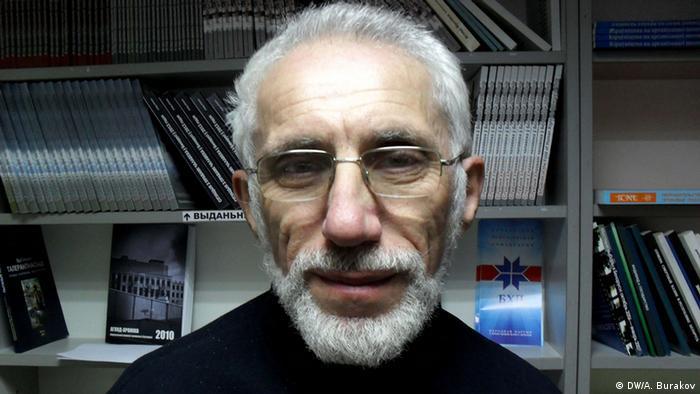 Могилевский правозащитник Борис Бухель