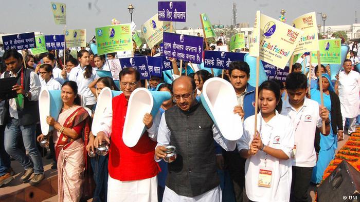 Indien Welt Toiletten Tag (UNI)