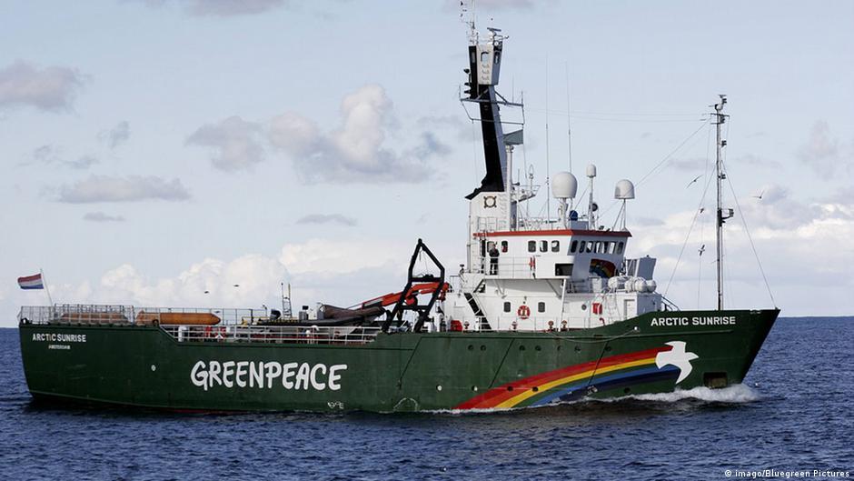Greenpeace Arctic Sunrise ship case