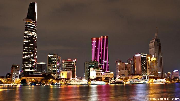 Vietnam Ho-Chi-Minh-Stadt Skyline