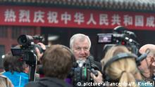 Horst Seehofer in Peking 19.11.2014