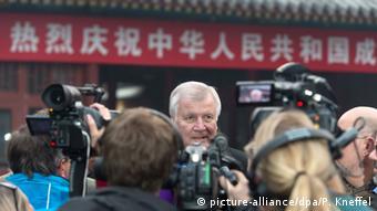 Horst Seehofer in Peking 19.11.2014