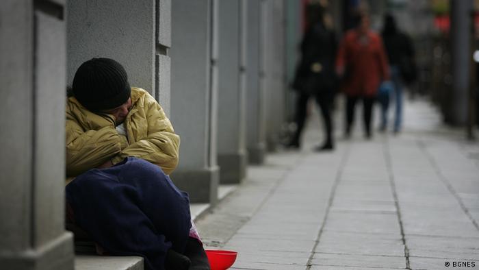 Symbolbild zur Armut in Bulgarien
