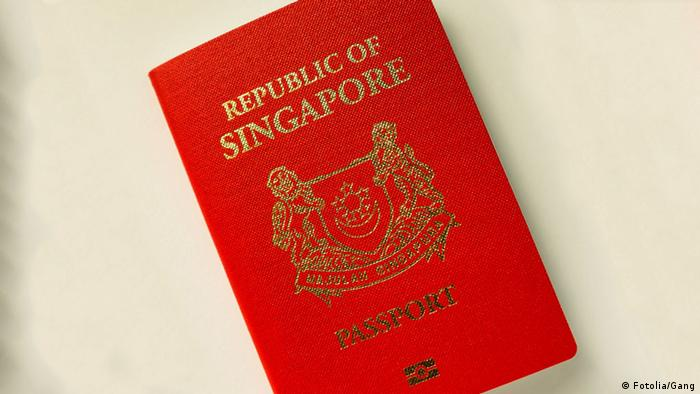 Reisepass Singapur (Fotolia/Gang)