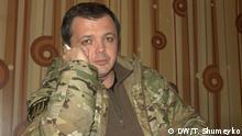 Ukraine Kommandeur Semen Sementschenko