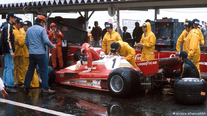 Niki Lauda Großer Preis von Japan 1976