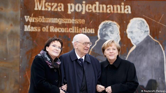 Angela Merkel 25 Jahre Versöhnung mit Polen 20.11.2014