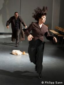 Scena iz predstave Crni kruh