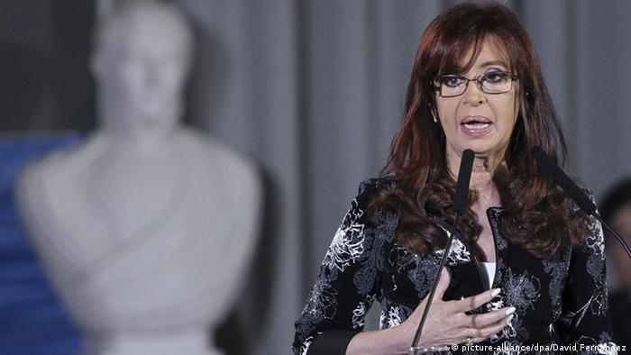 Argentinien Präsidentin Kirchner