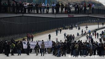 Mexiko Demonstration Mord an Schülern 20.11.2014