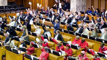Südafrika Parlament in Cape Town