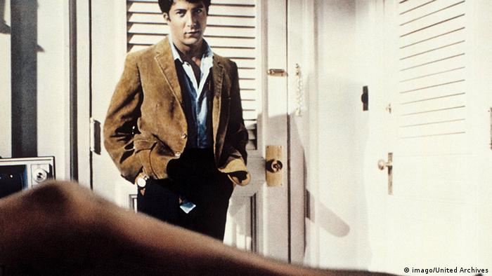 Still from 'The Graduate' with Dustin Hoffman (imago/United Archives)