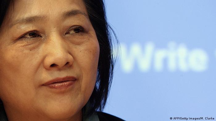 La periodista china Gao Yu.