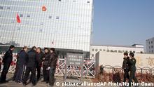 China Prozeß gegen Gao Yu Gerichtsgebäude in Peking