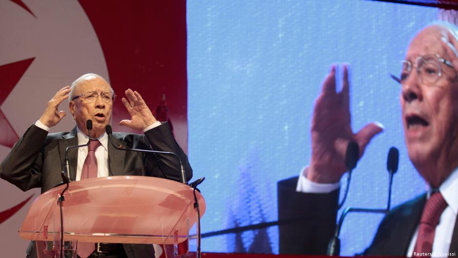 تونس: السبسي والمرزوقي إلى الجولة الثانية رسميا   DW   25.11.2014