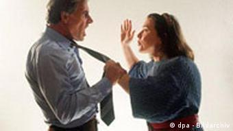 Symbolbild Ehestreit - Eheprobleme
