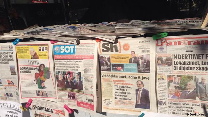 Kriza e medias në Shqipëri