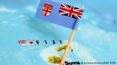 Landesflagge Fidschi Symbolfoto (picture-alliance/ANP XTRA)