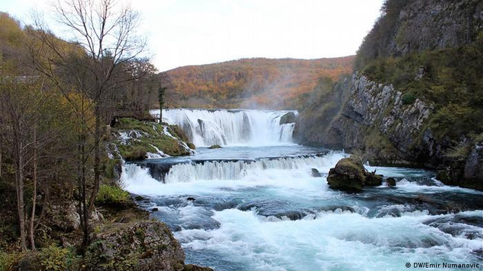 Der Nationalpark Una, Bosnien