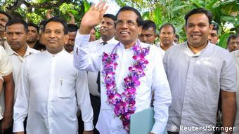 Sri Lanka Gesundheitsminister Mithripala Sirisena 21.11.2014