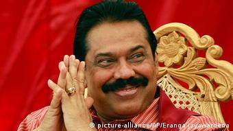 Sri Lanka Präsident Mahinda Rajapaksa