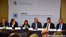 Georgien Tiflis Civil Society Forum Ostpartnerschaft 21.11.2014