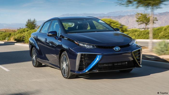 Das Brennstoffzellenauto Mirai (Foto: Toyota)