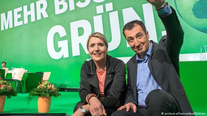 Bundesparteitag der Grünen in Hamburg Symbolbild Delegierte 21.11.2014 (picture-alliance/dpa/Büttner)