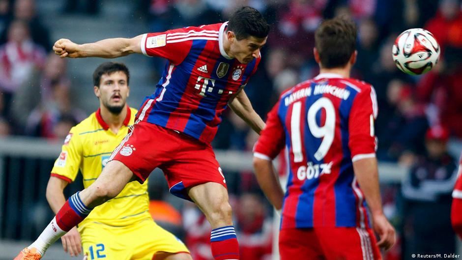 Bayern souverän, Verfolger patzen | DW | 22.11.2014
