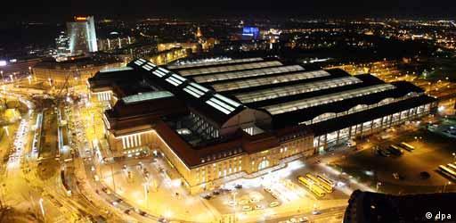 Dworzec Główny w Lipsku