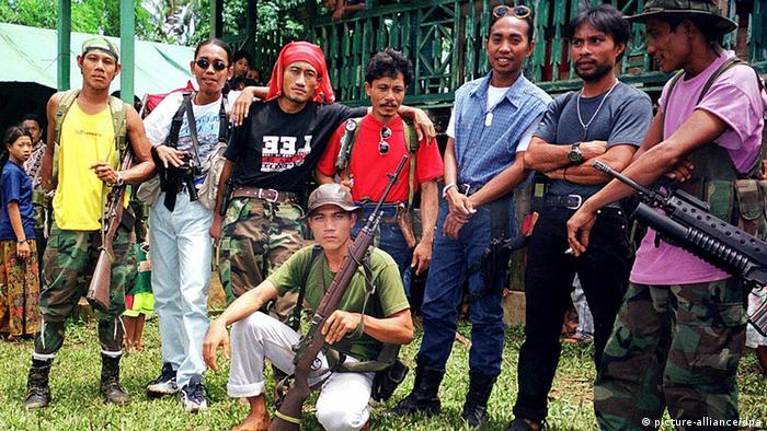 Abu Sayyaf Rebellen Mitglieder