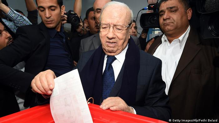 Bildergalerie Präsidentenwahlen Tunesien (Getty Images/Afp/Fethi Belaid)