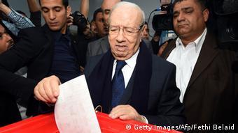 Bildergalerie Präsidentenwahlen Tunesien