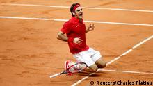 Roger Federer gewinnt den Davis-Cup im Tennis