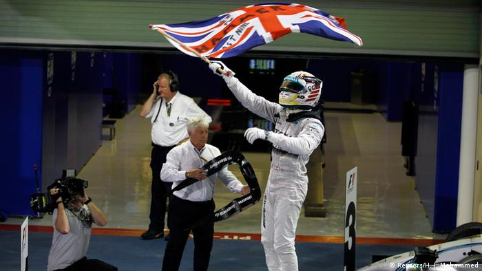 Formel 1 in Abu Dhabi (Sieger Lewis Hamilton)