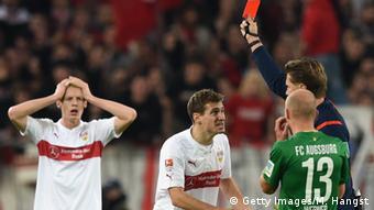 Fußball Bundesliga VfB Stuttgart vs. FC Augsburg