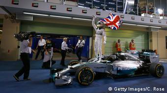 Formula One winner Lewis Hamilton