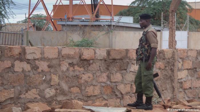 Polizist in Mandera