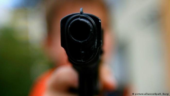 Spielzeugpistole (Symbolbild)