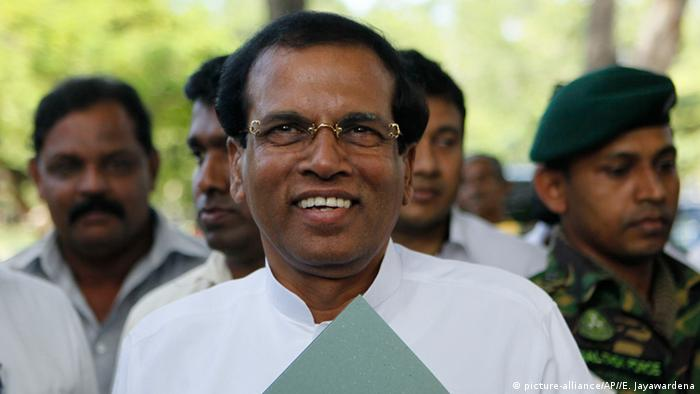 Sri Lanka - Gesundheitsminister Maithripala Sirisena