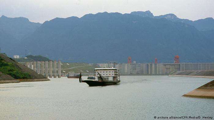 Tibet Staudamm Projekt Drei-Schluchten-Talsperre