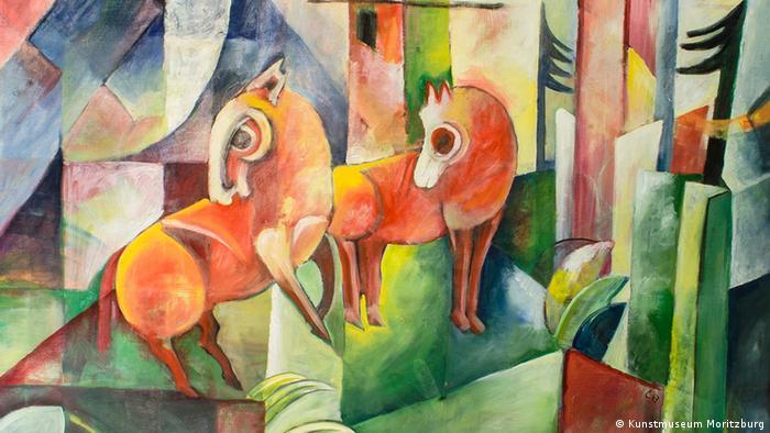 Ландшафт із червоними кіньми: підробка Вольфґанґа Бельтраккі під Генриха Кампендонка