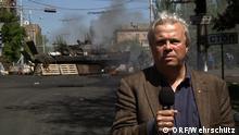 Ukraine - Journalist Christian Wehrschütz
